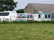 Hurst's of Wigan Coaches in a field, Sollom