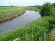 The River Douglas, much wider than at Wigan