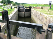 River lock, now Tarleton lock (No.8)