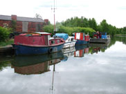 Boats at Plank Lane