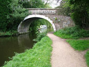 Livesey Hall bridge (Bridge 94) at Cherry Tree