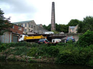 Canalside industry at Withnell Fold