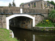The Top Lock Inn and Top Lock bridge (Bridge 82)