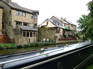 Nice houses on the canal just past Johnson's Hillock