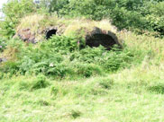 Unusual structures at side of canal, brick kilns?