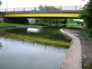 The A579 Atherleigh Way bridge