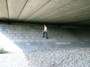 Under the A611 road bridge (Bridge 104C)