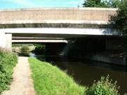 Bridge 104AA runs parallel to Whitebirk bridge
