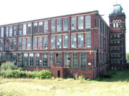 Imperial Cotton Mill at Blackburn