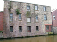 Old canalside building still in use
