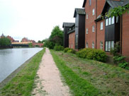 More trendy apartments (flats) on the canal