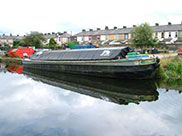 Canal barge 'Kennet'
