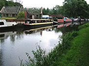 Lots of narrow boats